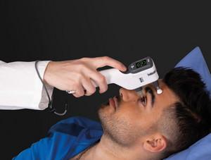 Icare ic200 silmänpaineen mittaus makaavalta henkilöltä